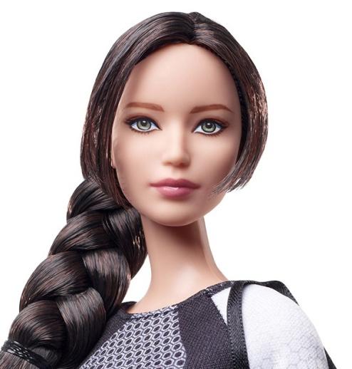 Katniss | Crédito da imagem: divulgação Barbie Collector/Mattel