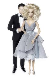 O vestido da Platinum Splash of Silver foi a escolha da vez | Crédito da imagem: divulgação Colette/Mattel via glamour.de