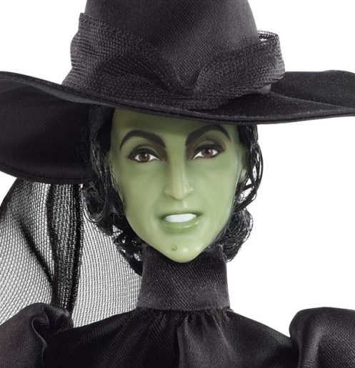 Margaret Hamilton como Wicked Witch of the West | Crédito da imagem: divulgação Barbie Collector/Mattel