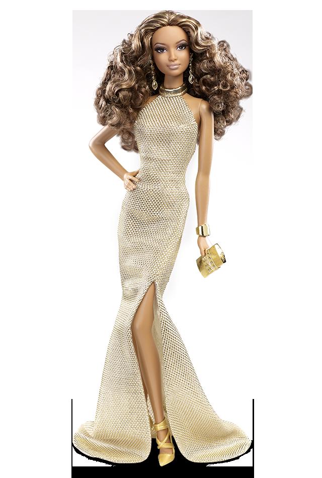 Gold Gown | Crédito da imagem: divulgação Barbie Collector/Mattel