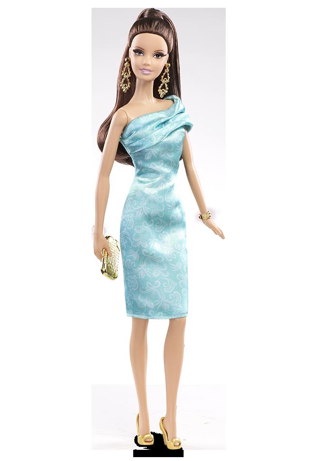 Green Dress | Crédito da imagem: divulgação Barbie Collector/Mattel