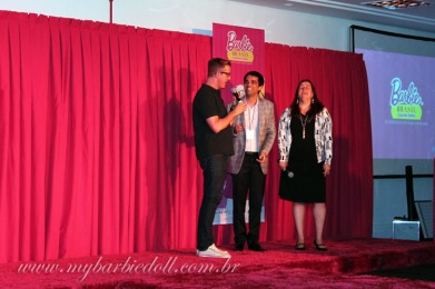 Bill acompanhou todo o evento | Crédito da imagem: Samira | www.mybarbiedoll.com.br