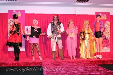 Os cosplayers dessa edição | Crédito da imagem: Samira | www.mybarbiedoll.com.br