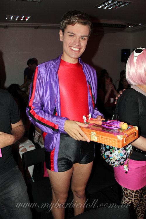 Nando, que faturou o terceiro prêmio | Crédito da imagem: Samira | www.mybarbiedoll.com.br