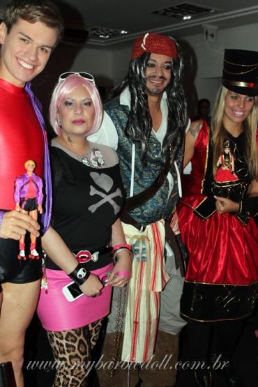 Nando, Aline, Romero e Vivian | Crédito da imagem: Samira | www.mybarbiedoll.com.br
