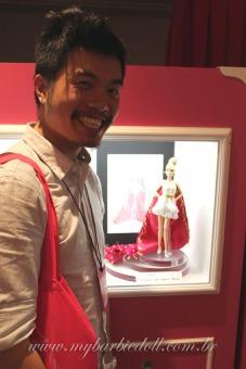 Marlon Chin Lee, grande vencedor do concurso Miss BarbieBrasil! | Crédito da imagem: Samira | www.mybarbiedoll.com.br