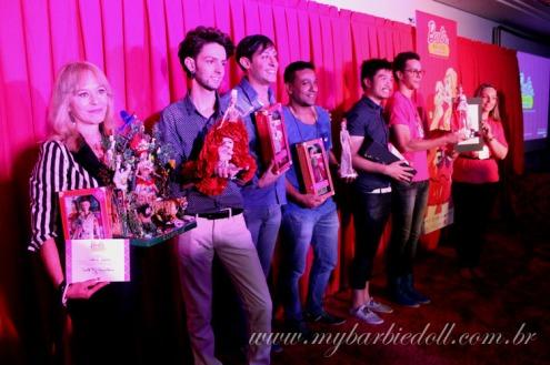 Os vencedores desta edição | Crédito da imagem: Samira | www.mybarbiedoll.com.br
