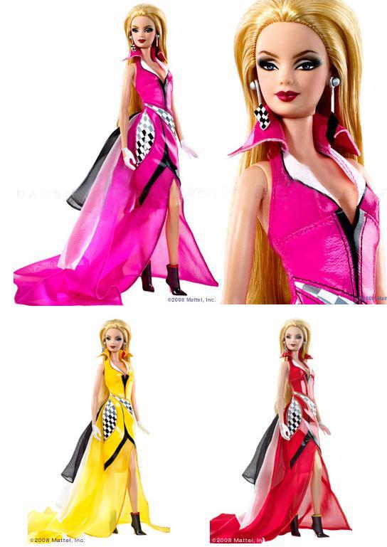 Crédito da imagem: divulgação www.barbiecollector.com/Mattel via barbiecafe.blogspot.com