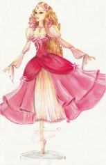 Princesa Genevieve | Crédito da imagem: divulgação www.coroflot.com/michellelucas