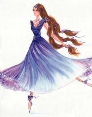 Princesa Courtney | Crédito da imagem: divulgação www.coroflot.com/michellelucas