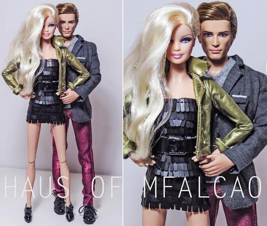 Um dos inúmeros photo shoots de Marcio com bonecas e bonecos da marca Barbie e demais personagens | Crédito da imagem: Marcio Falcao/arquivo pessoal
