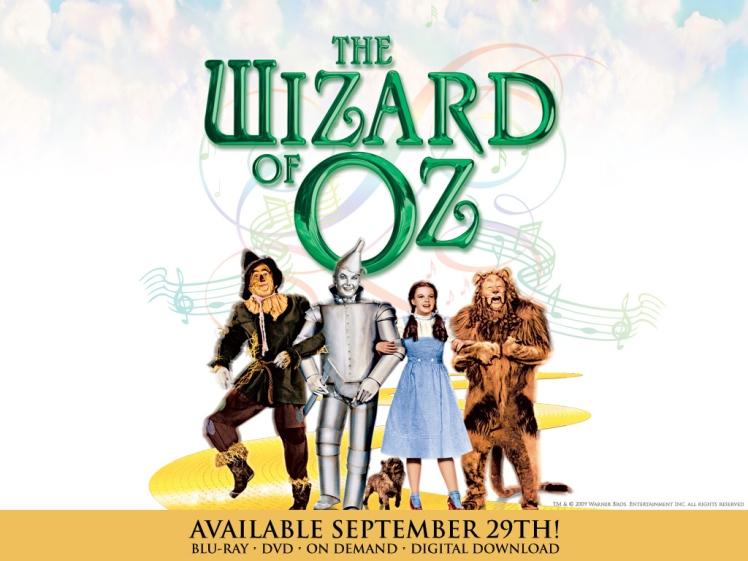 Arte de divulgação do filme O Mágico de Oz | Crédito da imagem: divulgação MGM & Warner Bros. via movieweb.com
