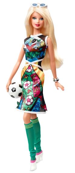Britto Barbie Doll | Crédito da imagem: divulgação Mattel
