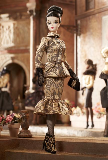 Crédito da imagem: www.barbiecollector.com / Mattel