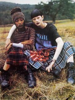 O grunge foi uma das sensações na moda na década de 1990. Um dos estilistas que apostou neste estilo foi Marc Jacobs | Crédito da imagem: via http://reverbcity.com