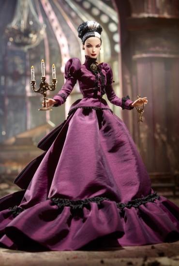 Haunted Beauty Mistress of the Manor Barbie Doll | Crédito da imagem: divulgação www.barbiecollector.com / Mattel