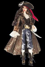The Pirate Barbie Doll | Crédito da imagem: divulgação www.barbiecollector.com / Mattel