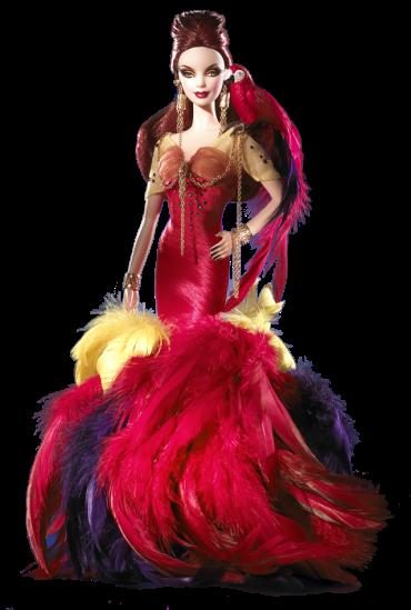 The Scarlet Macaw Barbie Doll | Crédito da imagem: divulgação www.barbiecollector.com / Mattel
