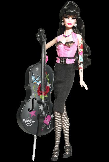 2009 Hard Rock Café Barbie Doll | Crédito da imagem: divulgação www.barbiecollector.com / Mattel