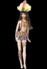 Amazonia Barbie Doll | Crédito da imagem: divulgação www.barbiecollector.com / Mattel