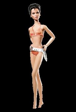 Die Another Day Barbie Doll | Crédito da imagem: divulgação www.barbiecollector.com / Mattel