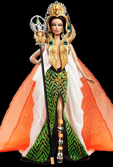 Barbie Doll as Cleopatra | Crédito da imagem: divulgação www.barbiecollector.com / Mattel