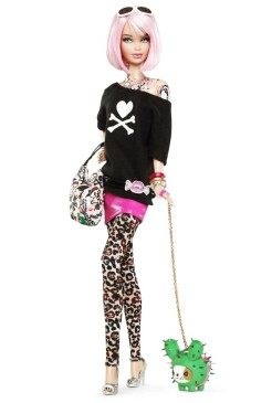 Tokidoki Barbie Doll | Crédito da imagem: divulgação www.barbiecollector.com / Mattel