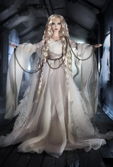 Haunted Beauty Ghost Barbie Doll | Crédito da imagem: divulgação www.barbiecollector.com / Mattel