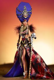 Tribal Beauty Barbie Doll | Crédito da imagem: divulgação www.barbiecollector.com / Mattel