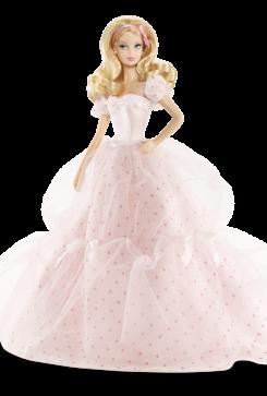 Birthday Wishes Barbie Doll | Crédito da imagem: divulgação www.barbiecollector.com / Mattel