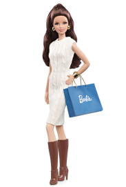 City Shopper Barbie Doll - Brunette Version | Crédito da imagem: divulgação www.barbiecollector.com / Mattel