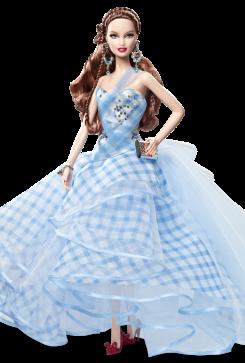 Wizard of Oz Fantasy Glamour Dorothy Doll | Crédito da imagem: divulgação www.barbiecollector.com / Mattel