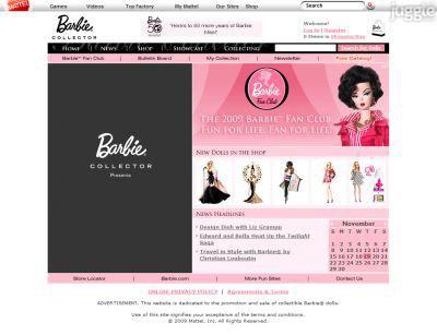 Crédito da imagem: divulgação www.barbiecollector.com via www.mybarbiedoll.com.br