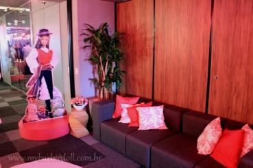 Lounge| Crédito da imagem: Samira | www.mybarbiedoll.com.br