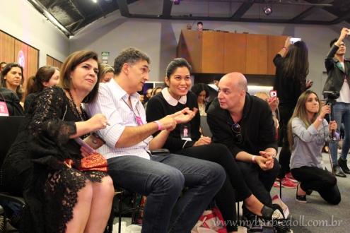 Jurados do Cosplay | Crédito da imagem: Samira | www.mybarbiedoll.com.br