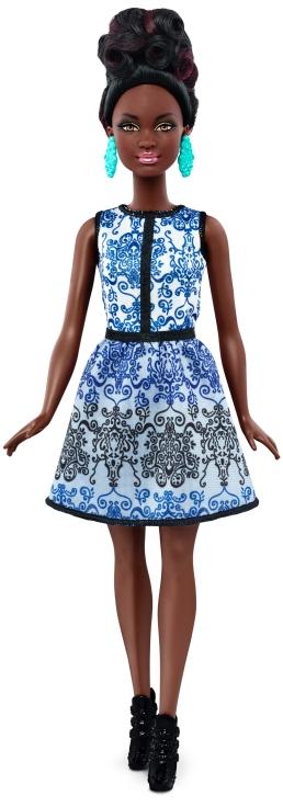 Petite Blue Brocade | Crédito da imagem: divulgação Mattel | www.barbie.com