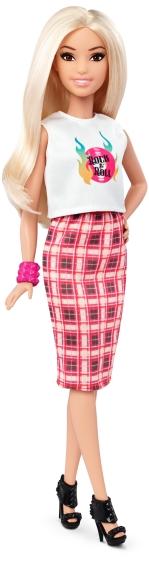 Petite Rock and Roll Plaid | Crédito da imagem: divulgação Mattel | www.barbie.com