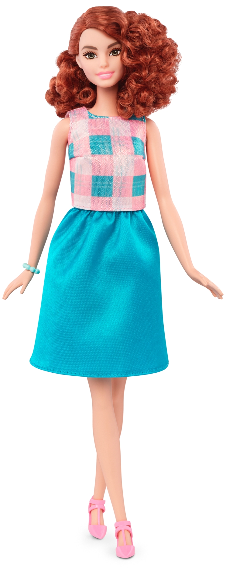 Tall Terrific Teal | Crédito da imagem: divulgação Mattel | www.barbie.com