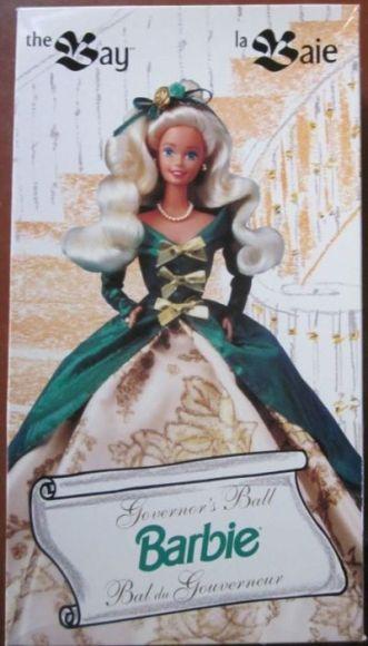 The Bay Governor's Ball Barbie Doll | Crédito da imagem: www.barbievalues.com