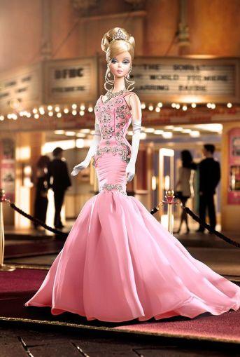 2007 The Soiree Barbie Doll - Platinum Version | Crédito da imagem: divulgação www.thebarbiecollection.com / Mattel