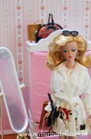 BFMC Trench Setter Barbie Doll | Crédito da imagem: Samira | www.mybarbiedoll.com.br