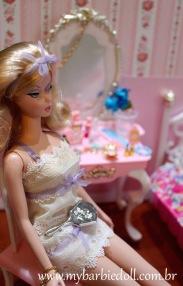 BFMC Tout De Suite Barbie Doll | Crédito da imagem: Samira | www.mybarbiedoll.com.br