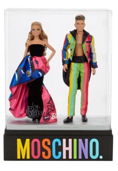 Moschino® Barbie® and Ken® Giftset | Crédito da imagem: divulgação Mattel | www.thebarbiecollection.com